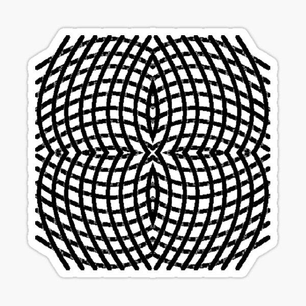 Circle, range, round, lap, disk, disc, circumference, ring, round, periphery Sticker