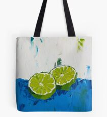 Naming of the Lime Tote Bag