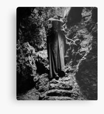 Mountain Witch Metal Print