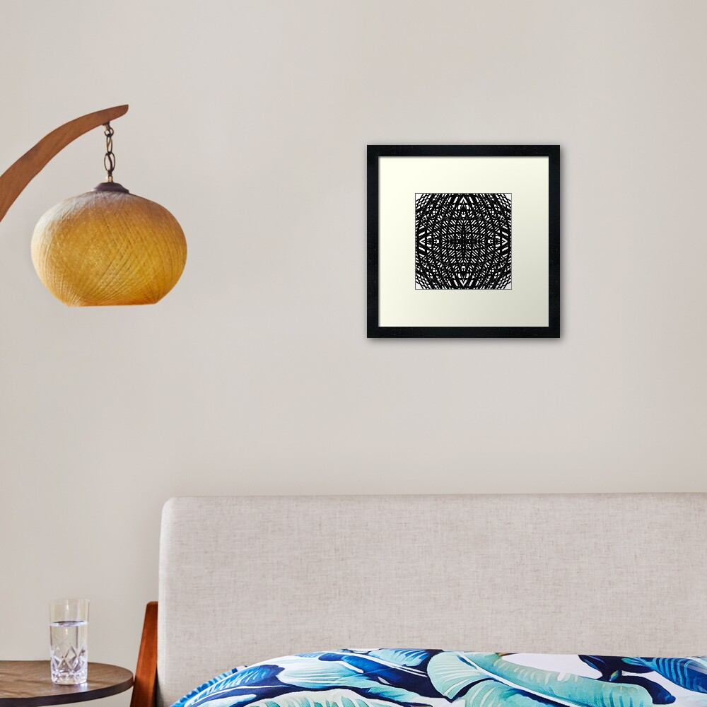Round, lap, disk, disc, circumference, ring, round, periphery, circuit, coterie Framed Art Print