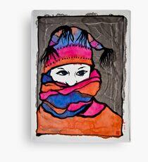 Winterportrait 1 Canvas Print