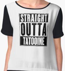Straight Outta Tatooine (Star Wars) - T-shirt Chiffon Top