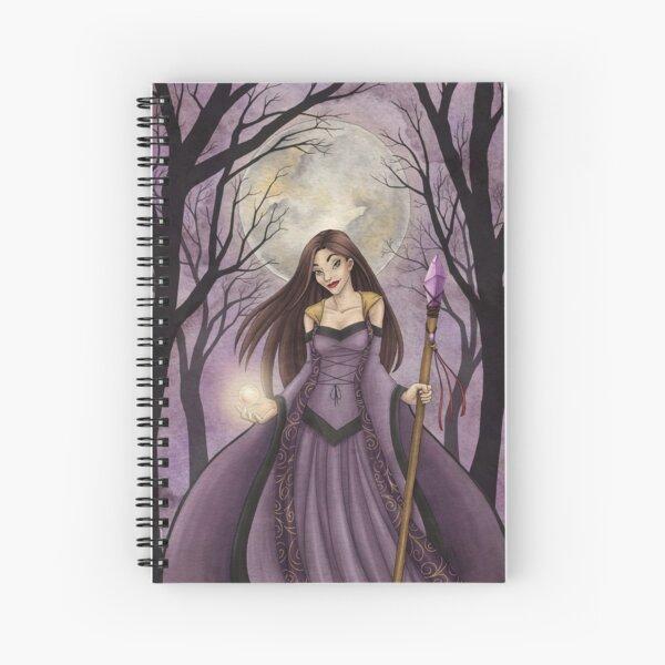 Amethyst Witch Spiral Notebook