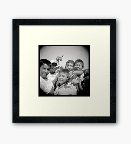 Peruanitos Framed Print