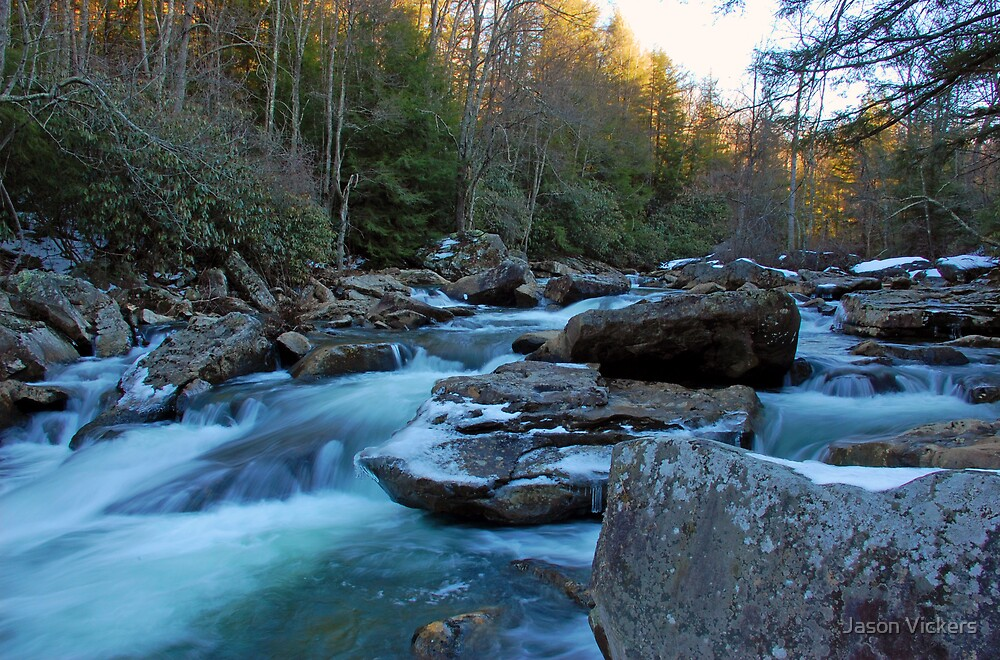 Glade Creek  by Jason Vickers