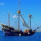 Pirate Ship by Al Bourassa