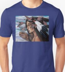 Sky Woman Iroquois Mother Goddess Unisex T-Shirt