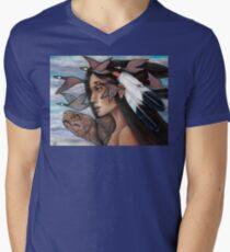 Sky Woman Iroquois Mother Goddess Mens V-Neck T-Shirt