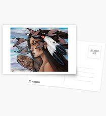 Sky Woman Iroquois Mother Goddess Postcards