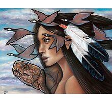 Sky Woman Iroquois Mother Goddess Photographic Print