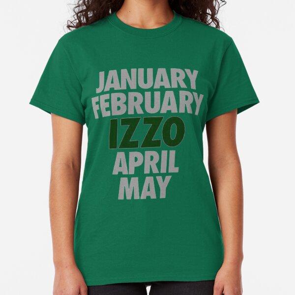 January February Izzo April May Green Tom Izzo Michigan Basketball T Shirt