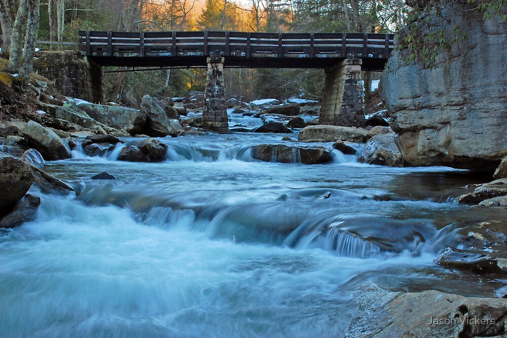 Glade Creek Bridge by Jason Vickers