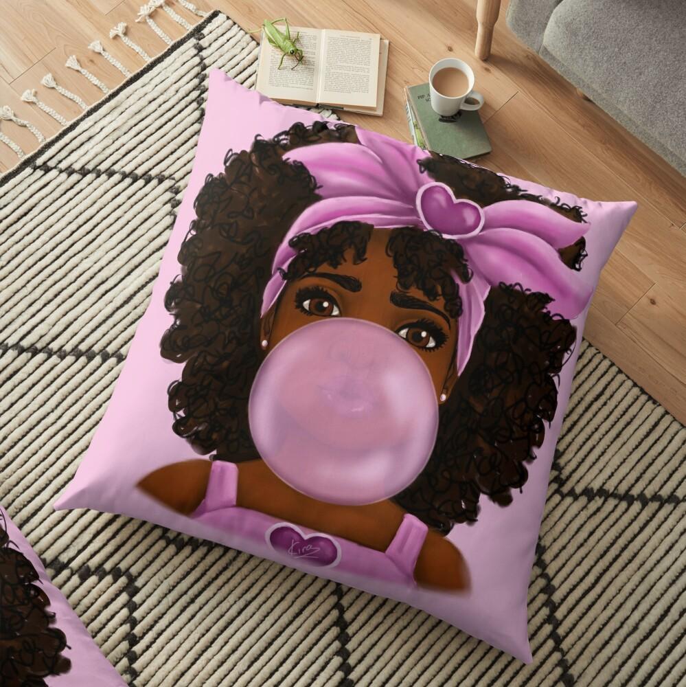 Bubble Gum Floor Pillow