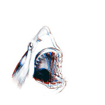 Shark (3D) by JohnnyIronic