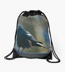 The Crow © Photography by theclayman.com / Paul Moldovanos Drawstring Bag