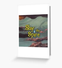 Slay the Spire - Game Art Greeting Card