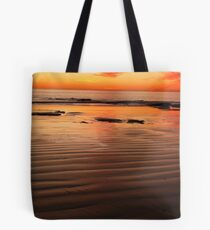 blood red sun Tote Bag