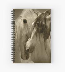 The beauty of the Horse.  Spiral Notebook