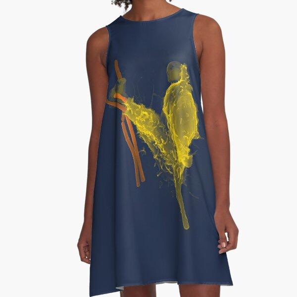 Amoeba  A-Line Dress