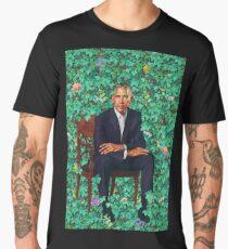 Obama Portrait Men's Premium T-Shirt