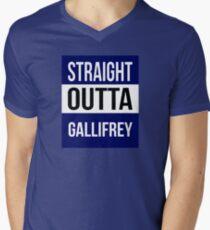 Dr Who Men's V-Neck T-Shirt