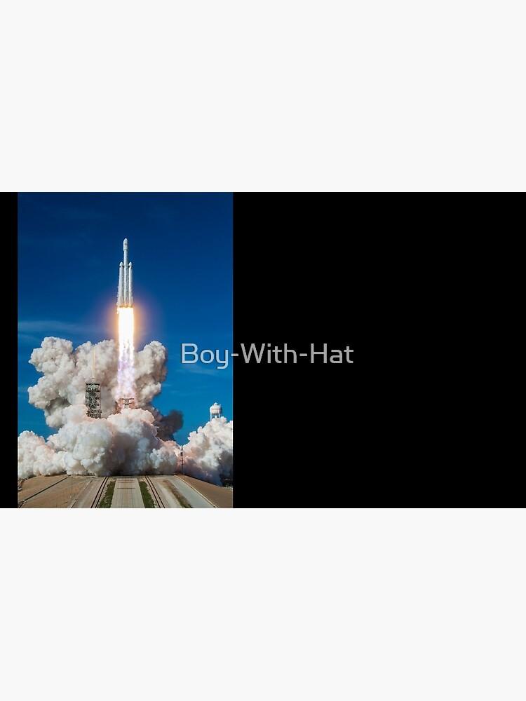 Spacex Falcon Heavy Lift aus Demo starten von Boy-With-Hat