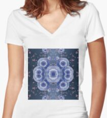 Scientific Visualization Women's Fitted V-Neck T-Shirt