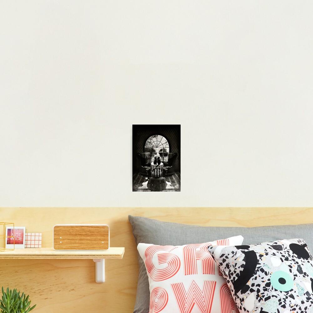 Room Skull Photographic Print