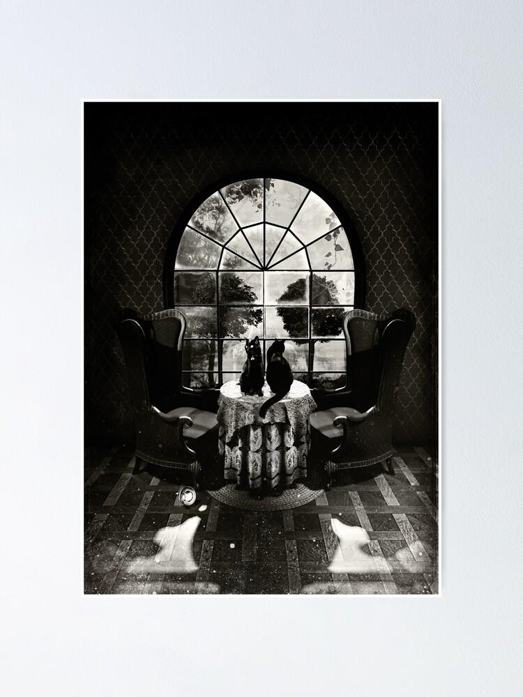 Alternate view of Room Skull Poster