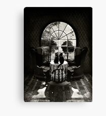 Room Skull Canvas Print