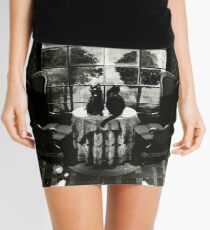 Room Skull Mini Skirt
