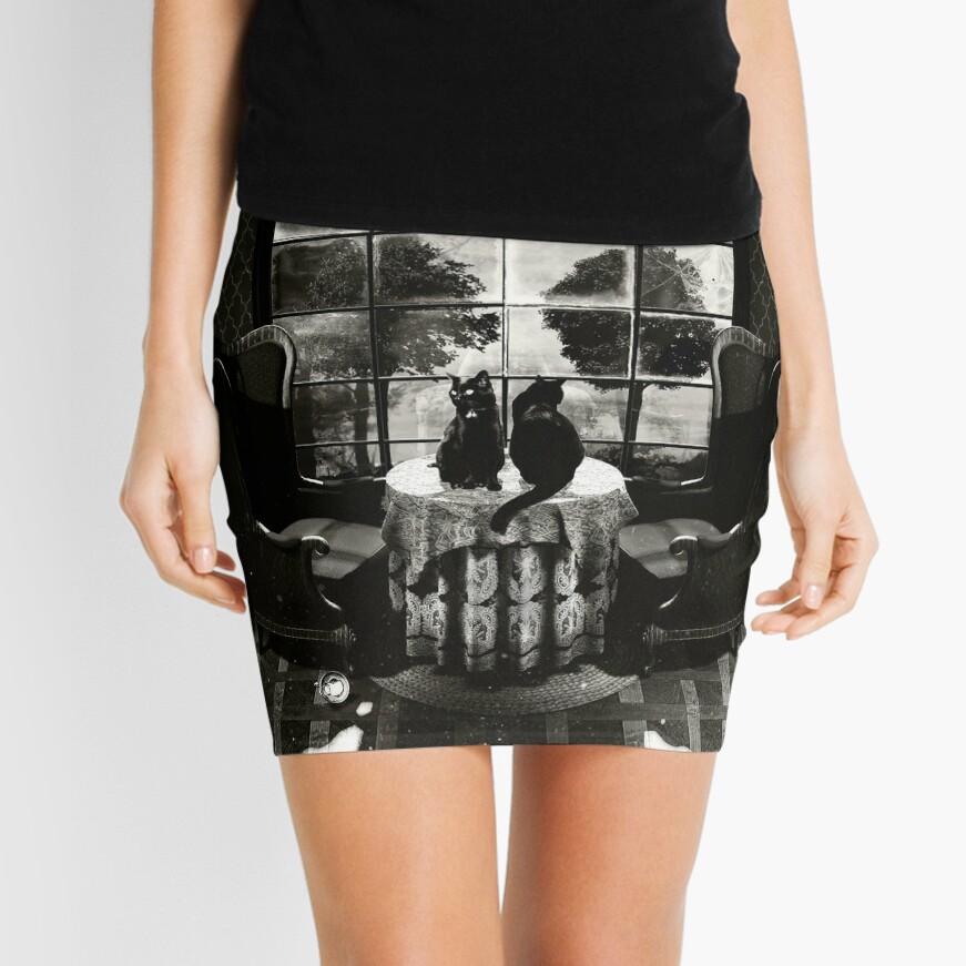 Room Skull Mini Skirt