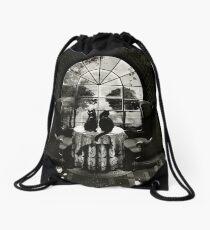 Room Skull Drawstring Bag