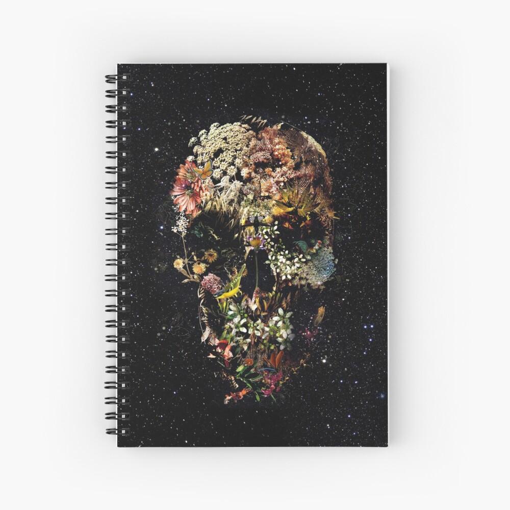 Smyrna Skull Spiral Notebook