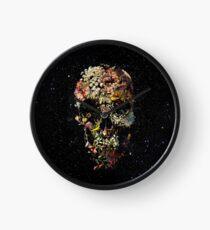 Smyrna Skull Clock