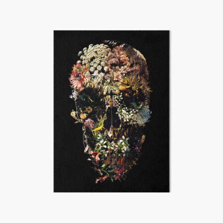 Smyrna Skull Art Board Print