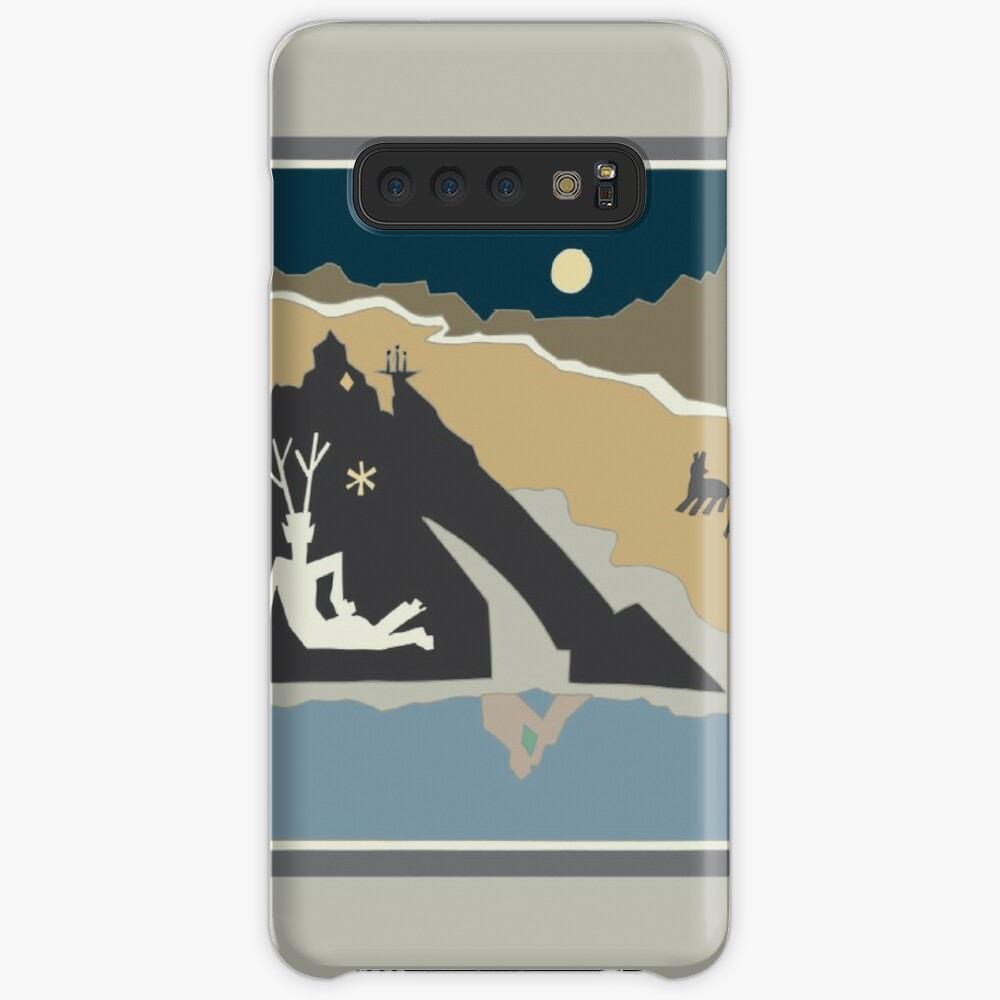 Shadow Man Case & Skin for Samsung Galaxy