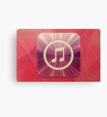The Music of Purple and Pink   Canvas Print