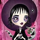 Strange and Unusual - Lydia Deetz by sandygrafik