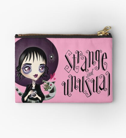Strange and Unusual - Lydia Deetz Zipper Pouch
