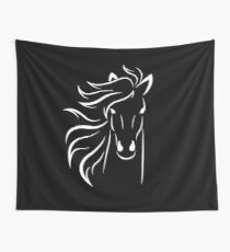 Horse for Girls Wall Tapestry