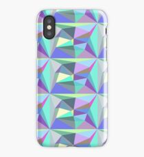 Iridescent Geometric Background iPhone Case
