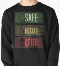 SCP - Threat Levels Pullover