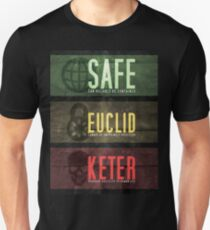 SCP - Threat Levels Unisex T-Shirt