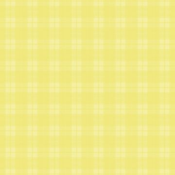 Bright Limelight Yellow Plaid by coverinlove