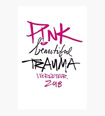 Pink - Beautiful trauma worldtour 2018 Photographic Print