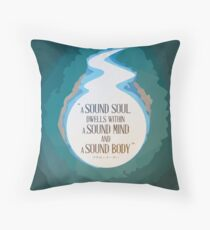 A Sound Soul Throw Pillow