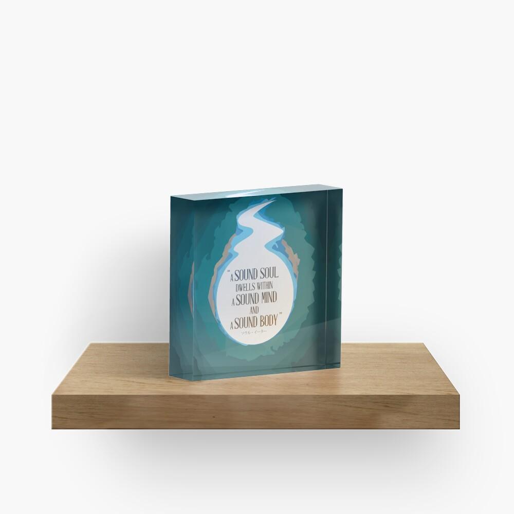 A Sound Soul Acrylic Block