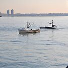 Fishing Trawlers - NYC by Sarah McKoy
