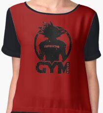Instructor Gym Saiyan Chiffon Top